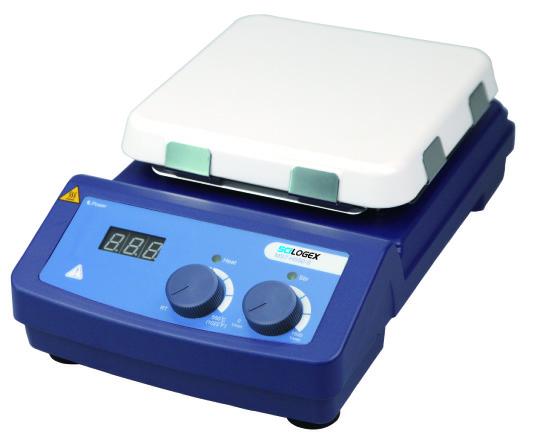 LED数显(加热)型7寸方盘磁力搅拌器