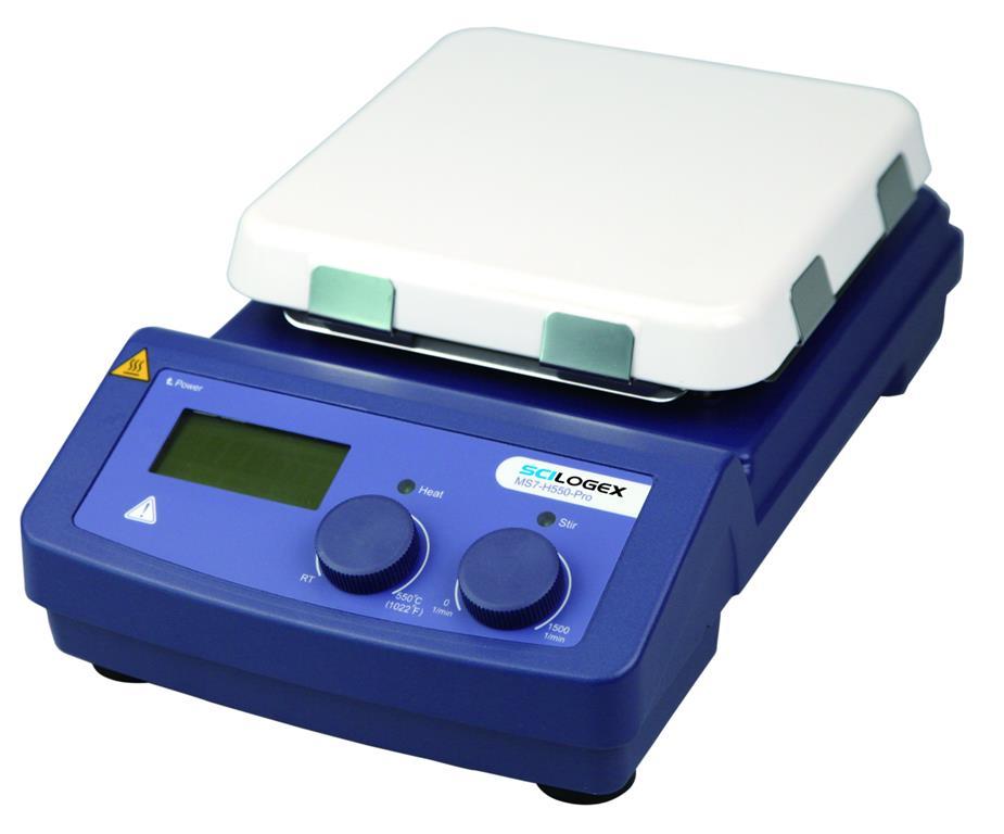 LCD数显(加热)型7寸方盘磁力搅拌器