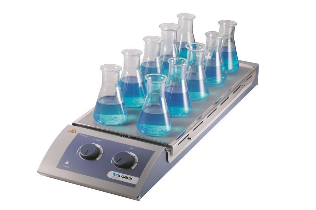 10通道标准(加热)型磁力搅拌器