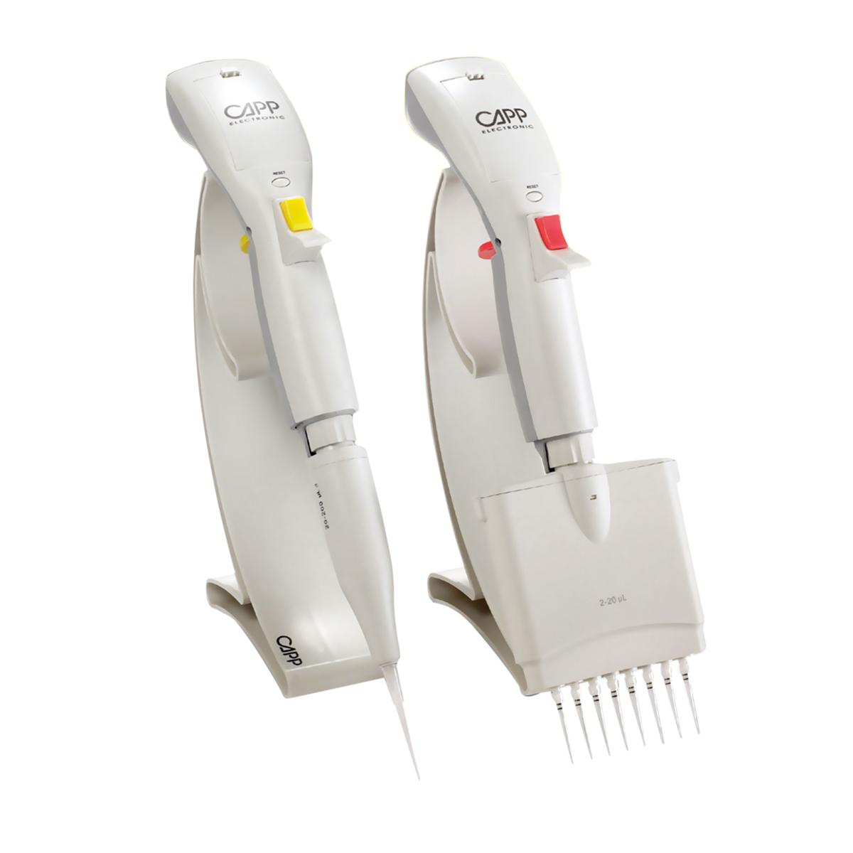 Capp Tronic 系列单/多道电动移液器