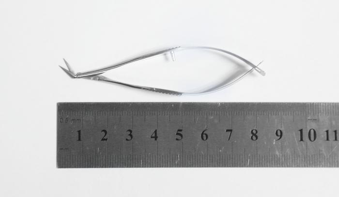 VANNAS 弹簧剪-斜角弯/三菱形/尖头&尖头/8.5cm