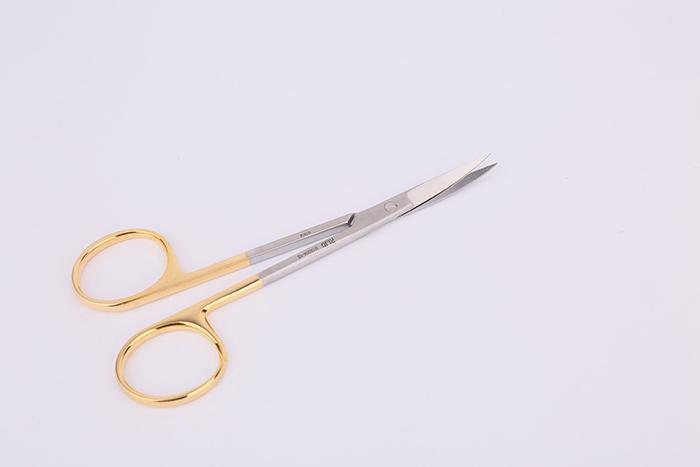 IRIS 精细剪(T.C.)-弯/尖头&尖头/10.5cm