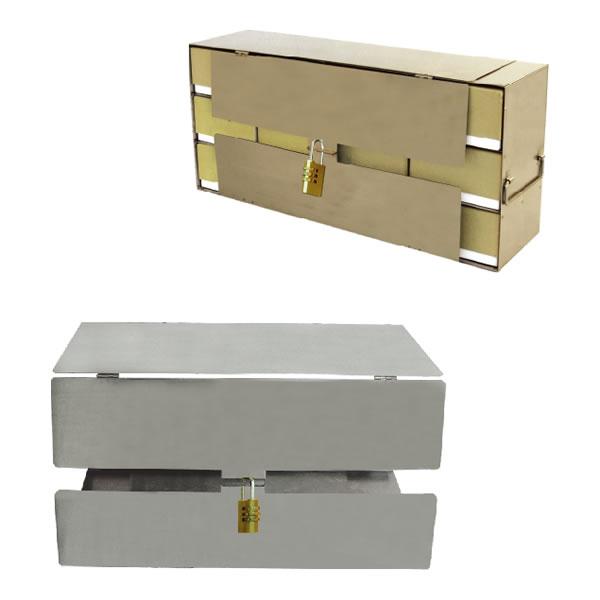 立式冰箱分隔架的安全锁定装置