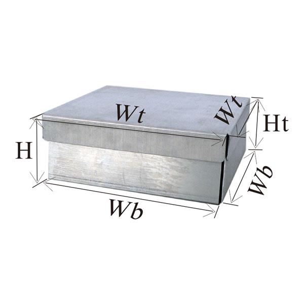 铝制冷冻盒