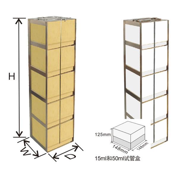 存放装15ml和50ml试管盒的卧式冰箱分隔架---CFLB系列